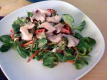 Salat aus Forelle, Rote Beete und Feldsalat - Rezept