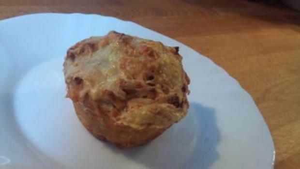 Muffins mit Käse-Kruste - Rezept