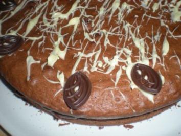 "TORTE- ""Schoko- Preiselbeer- Torte"" - Rezept"