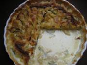 Kartoffel - Zucchini - Gratin. - Rezept