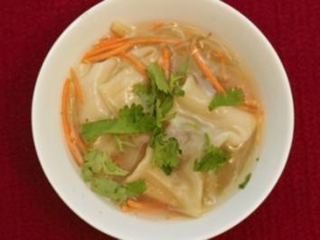 Lisas würzige Wan Tan Suppe (Lisa Bund) - Rezept