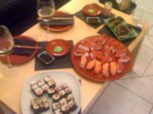 Tamago-Kavier-Sushi - Rezept