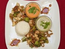Hühnerbrust-Chop-Suey mit buntem Gemüse (Lisa Bund) - Rezept