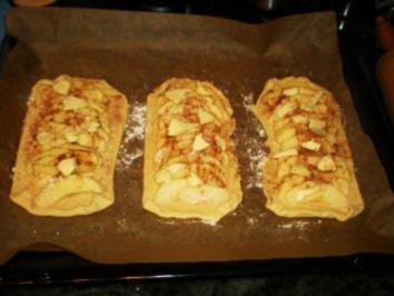 KUCHEN: Pastel de Manzana - spanische Apfelschnitten - Rezept