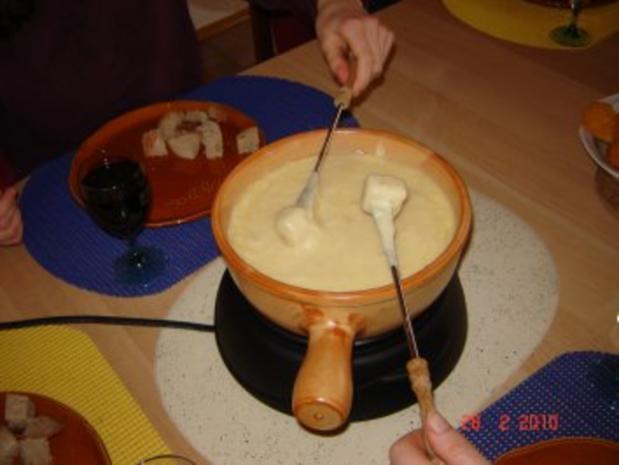 Käse : Käse-Fondue Fribourg - Rezept - Bild Nr. 4