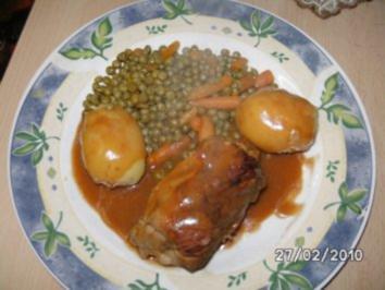 Gynie's Schweinerouladen mit Mischgemüse - Rezept