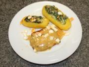 Lachs in Honig-Senf Soße mit Florentiner Kartoffeln - Rezept