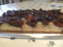 Pflaumenkuchen   mit falschem Hefeteig - Rezept