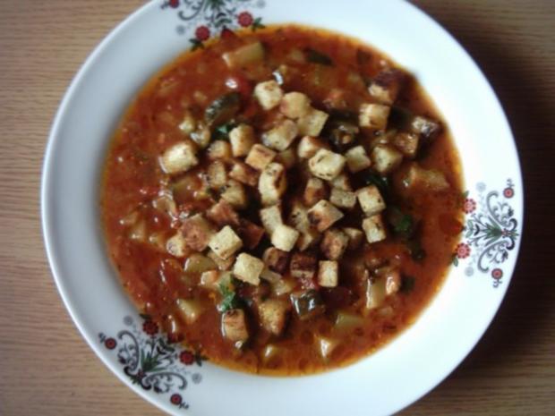 Zucchini-Tomaten-Topf - Rezept