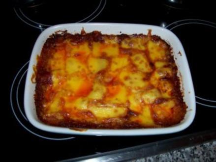 Lasagne mit Bechamelsoße - Rezept