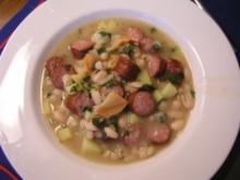Weiße Bohnen Suppe - Rezept