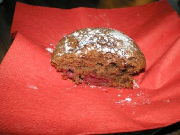 Saftige Schoko- Kirsch- Muffins - Rezept - Bild Nr. 3