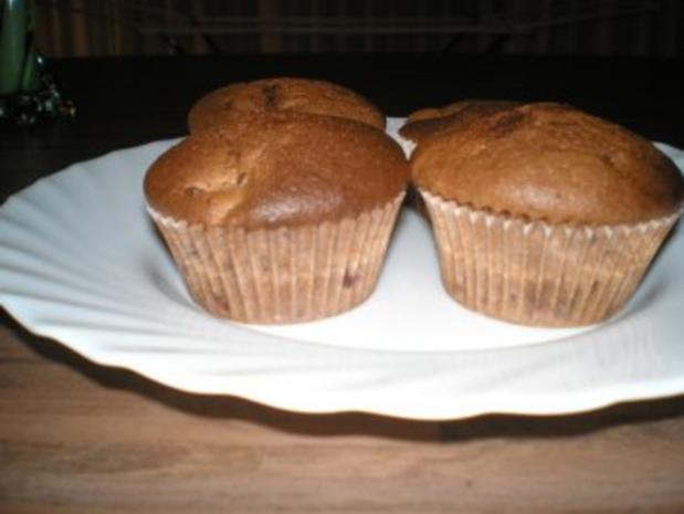 Saftige Schoko- Kirsch- Muffins - Rezept - Bild Nr. 4