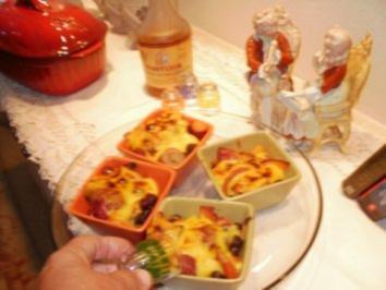 Beeren und Freuchte mit Orangenrum Glaze - Sieht Teuer und Elegant aus aber billig und schnell zu machen - Rezept