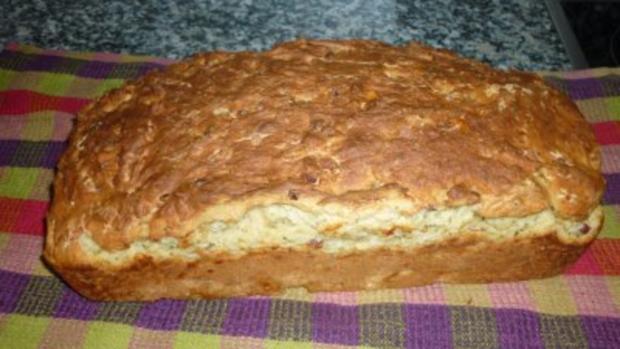 Pancetta-Parmesan-Brot - Rezept - Bild Nr. 2