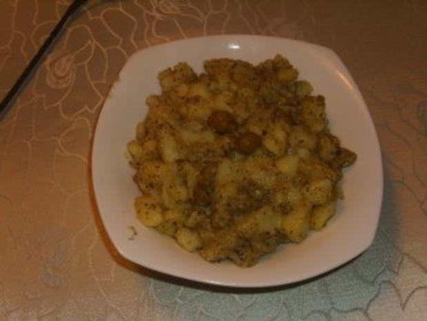 Beilagen: Oliven-Kartoffelstampf - Rezept