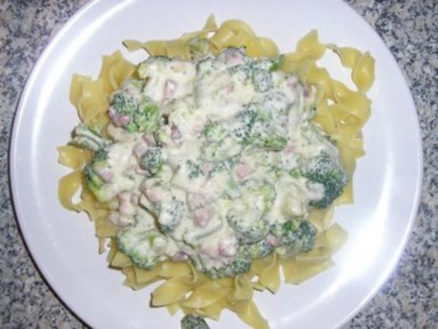 Bandnudeln mit Brokkoli - Rezept