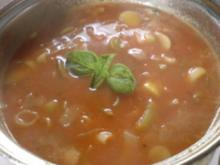 Tomatencreme-Suppe - Rezept