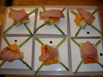 Kartoffelterrine mit Schwertfischcarpaccio - Rezept