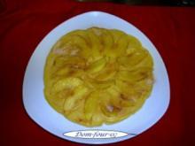 Apfelpfannkuchen mal was schnelles - Rezept