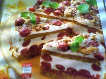 Cappuccino-Torte mit Kirschen - Rezept - Bild Nr. 3