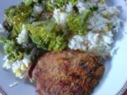 Broccoli-Reis-Pfanne mit Schweinesteaks - Rezept