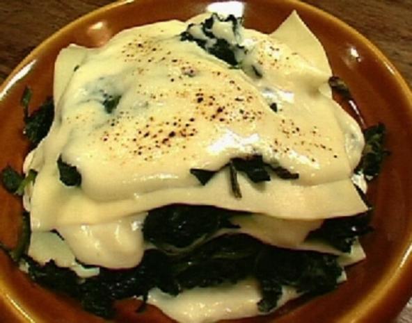Spinat-Ricotta-Lasagne - Rezept