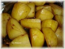 Beilage - Würzkartoffeln aus dem Bratschlauch - Rezept