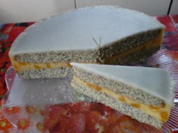 Mandarinen-Mohn-Kuchen - Rezept