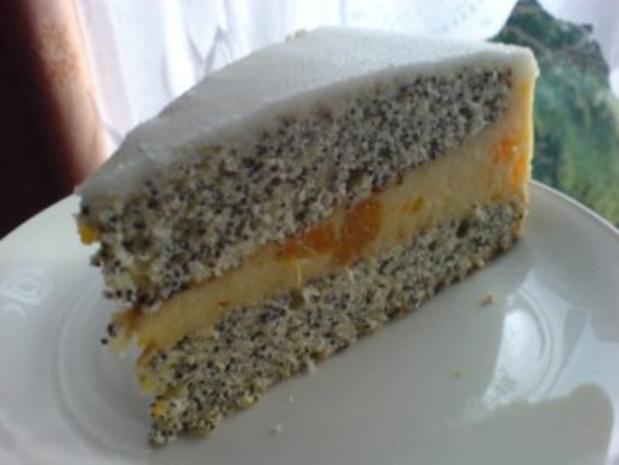Mandarinen-Mohn-Kuchen - Rezept - Bild Nr. 2