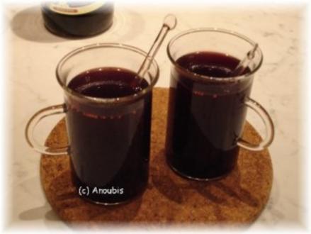 Heissgetränk - Cranberry-Punsch - Rezept