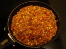 Reis-Hackfleischpfanne mit Gemüse - Rezept