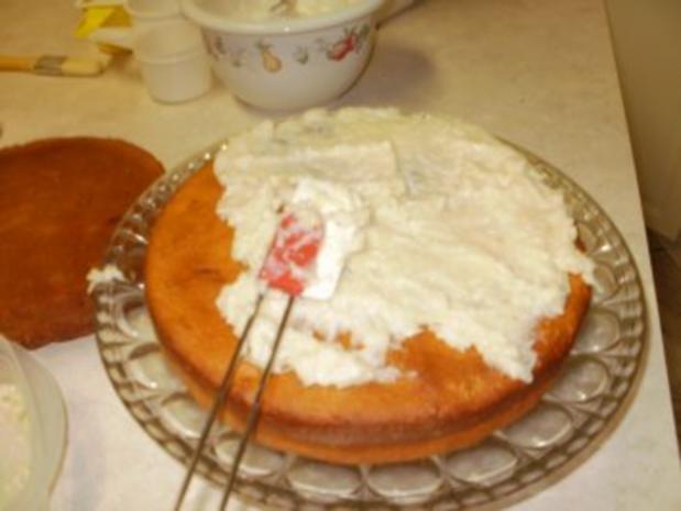 Kuchen - Kokonuess Fuellung fuer Amerikanischer Suesskartoffelkuch - Rezept - Bild Nr. 7