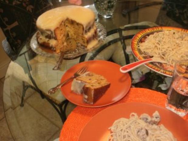 Kuchen - Kokonuess Fuellung fuer Amerikanischer Suesskartoffelkuch - Rezept - Bild Nr. 2