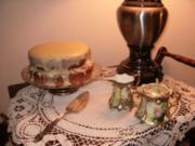 Kuchen- Frosting fuer Amerikanischen Suesskartoffel Kuchen mit Kokonuss Fuellung - Rezept