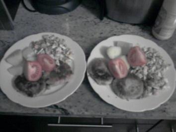 Tofu mit Kartoffeln und Ei - Rezept