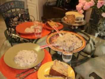 Shrimp & Huhn Tetrazzini - Italien Essen mal anders von Florida - Rezept