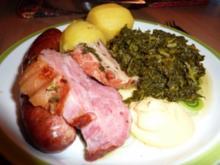 Fl/Schwein: Bärbel's Grünkohl - Rezept