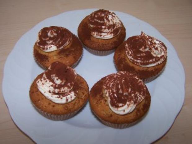 Tiramisu-Muffins - Rezept