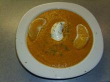 Suppen: Karotten-Orangen-Curry-Suppe - Rezept