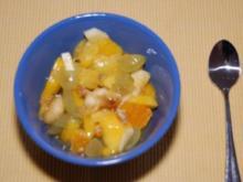 frischer Obstsalat II - Rezept