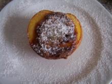 Gefüllte Pfirsiche - Rezept