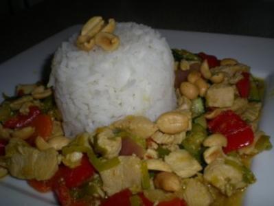 Asia Hühner Topf - Rezept