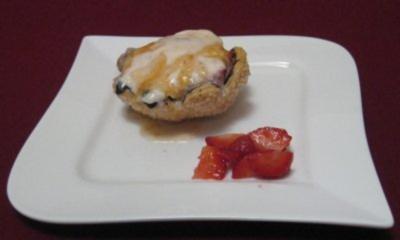Überbackene Mascarpone-Erdbeeren - Rezept