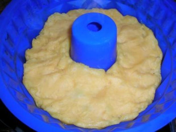 Kartoffel-Gugelhupf-Pudding als Beilage zu meiner dicken Rippe in Altbiersauce - Rezept - Bild Nr. 5
