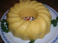 Kartoffel-Gugelhupf-Pudding als Beilage zu meiner dicken Rippe in Altbiersauce - Rezept