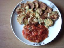 Zucchini überbacken in Tomatensoße aus der Türkei - Rezept