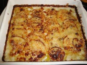 Kartoffelgratin mit Gorgonzola - Rezept