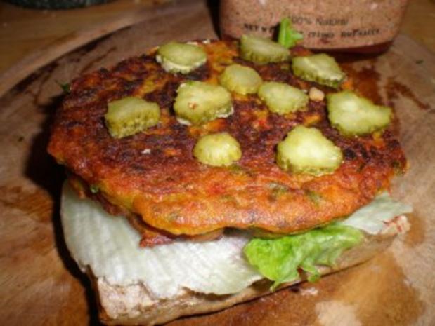 Feuriger Veggie-Burger - Rezept - Bild Nr. 2