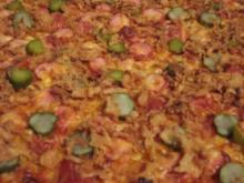 Hot Dog Pizza - Rezept
